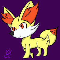 Pokemon X/Y - Fennekin by Donnyku
