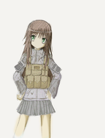 Special Operations Girl by LazyRemnant