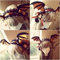 Bat Wing Maid Headbands by NoFlutter