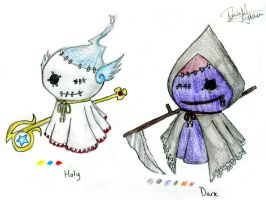 Ghost Puppets by WhoAteTheWaffles