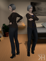 Doctor Chakwas Casual Outfit (XPS) by Grummel83