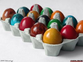 Coloured eggs by PaSt1978