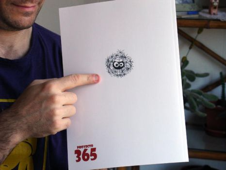 The 365 Project - Back cover art by fabianfucci