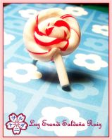 Cherry pop ring by Sarudanya