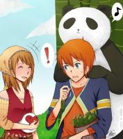 Lillian and Phillip - Harvest Moon ToTT by chitralala