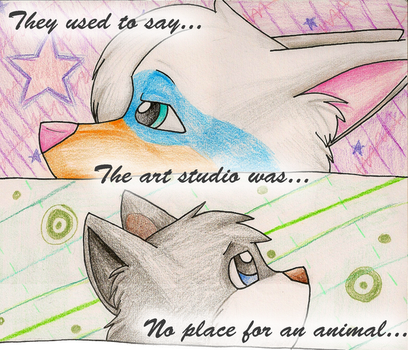 The Studio: Page one by catz1313