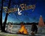 Peaceful Blessings 2015 by Sophia-Christina