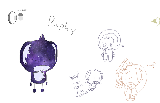Raphy again by depressionghoul