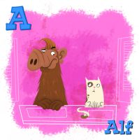 Alf by xanderthurteen