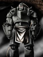 Alphonse Elric Detail by adammdesigns