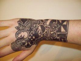 Sharpie on Hand by mleaning