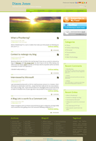 Wordpress-Blog layout 4 SALE by Noem9