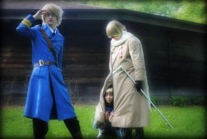 APH: Where's the non-country by HappyRootCosplay