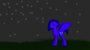 Lunar Singing Silent Night by The-Everlasting45