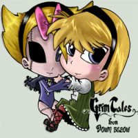 grim tales chibis: minie's by julif-art