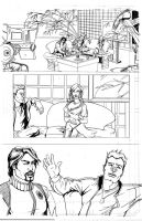 DIV. IV Pencils pg 1 by Theamat