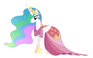 Pr. Celestia( Gala dress) by Roze23