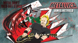 JAMES HETFIELD by jvgce