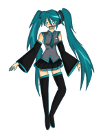 Hatsune Miku by MoonSword7