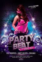 Party Beat Flyer by styleWish