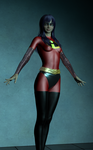 The Incredibles Violet Parr Option B by EmpireCityHeroines