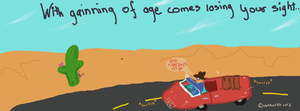 With gaining of age... by artloverrsnp