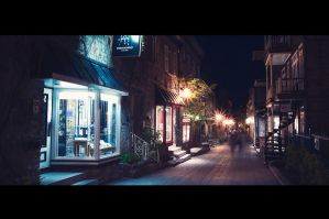Street of Nouvelle France by Vibrantx