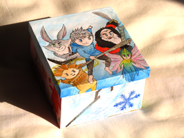 Rise Of The Guardians Box by TsukineSara