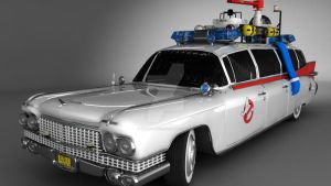 ECTO-1 3ds MAX render test by edureboucas