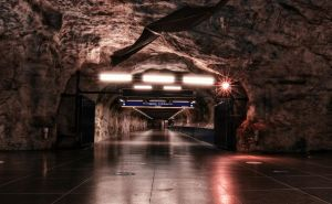 Rock Tunnel by HenrikSundholm