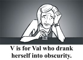 V is for Val by BloodyWilliam