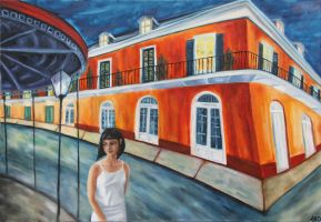 Alone in New Orleans by ABDportraits