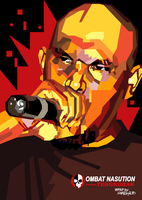 Ombat Nasution in WPAP by setobuje