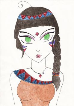 Indian by Simonelin