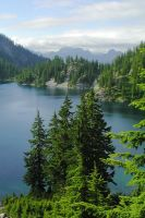Snow Lake by dsiegel