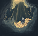 Sad Little King of a Sad Little Hill by weepysheep