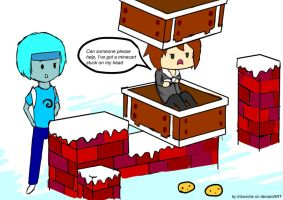 Minecraft fanart by Inbunche