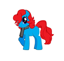 My oc Sky Fire by lessy652