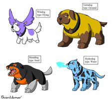 Fakemon: Dogs 3 by Brian12