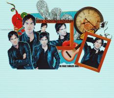 Ian Somerhalder Layout Header by flawlesstragedy
