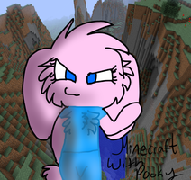 Minecraft Pooky by moth7