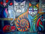 Cats meow by karincharlotte