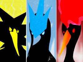 Legendary Birds by jaclynonacloud