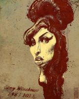 Amy Winehouse 1983 2011 by gabrio76