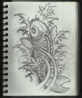 Koi Tattoo Design by Frosttattoo