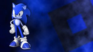 Sonic Blue Desktop by Rubez2525