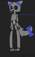 FNAF OC Whitney the Wolf by TheGreatFluffiness