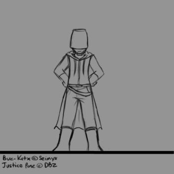 Animation: Justice Pose by Genesisi