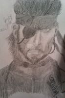 Naked Snake. by Zombiebaile