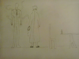 Slenderman and me by Boygreeniez